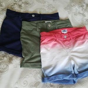 Set of 3 Old Navy shorts, (L/10-12)